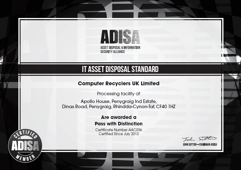I T Asset Disposal Service - Computer Recyclers